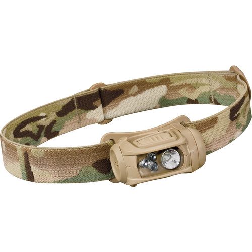 Princeton Tec Remix LED Headlamp with White Spot & Red/Green/Blue Flood (MultiCam)