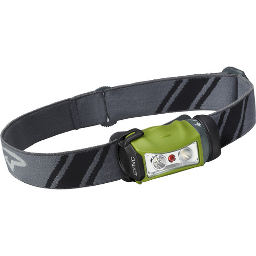 Princeton Tec Sync 200 LED Headlamp (Gray/Green)