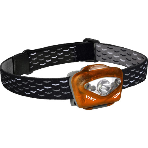Princeton Tec Vizz 350 LED Head Lamp (Orange)