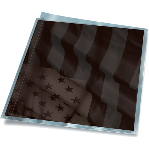 Print File 8.5 x 11 Polypropylene FoldFlap Sleeves (50-Pack)