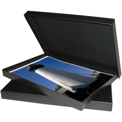 """Print File PBW461 4 x 6"""" Clamshell Portfolio Box (Black)"""