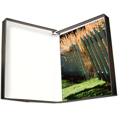 "Print File PBW22281 22 x 28"" Clamshell Portfolio Box (Black)"