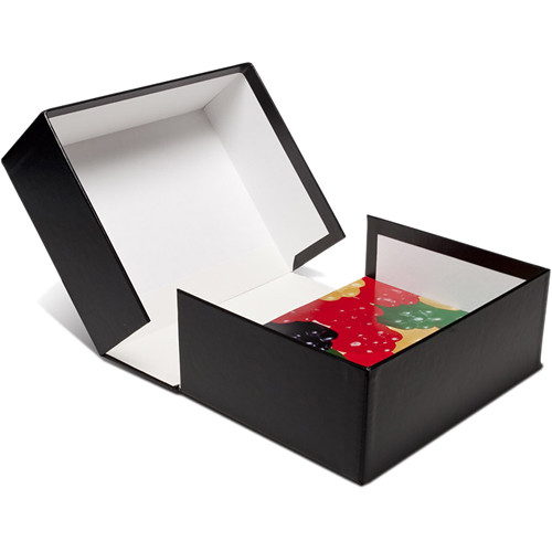 "Print File Clamshell Box (11 x 14"", White Interior)"