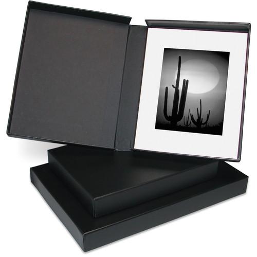 "Print File Clamshell Box (14 x 18"", Black Interior)"