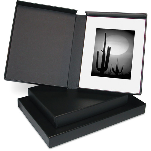 "Print File PBB17222 17 x 22"" Clamshell Portfolio Box (Black)"