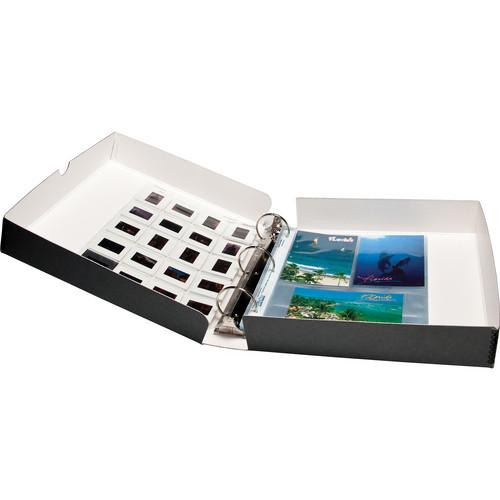 Print File GBB12112 Metal-Edge Box Binder (Gray)