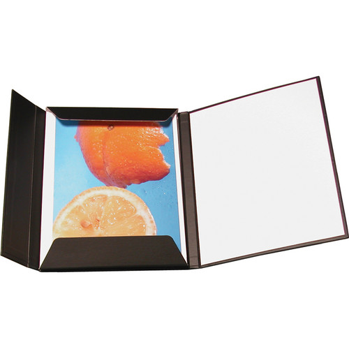 "Print File FOL811M 8.5 x 11"" Magnetic Folio Presentation Folder (Portrait)"