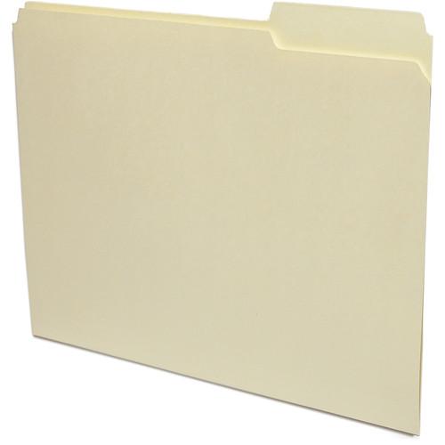 Print File Letter Size Archival File Folders (50 Pack)