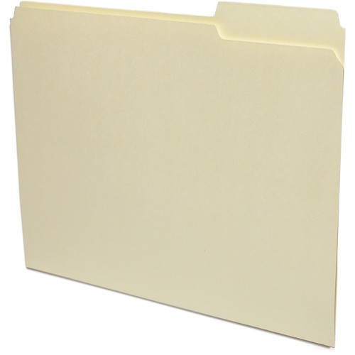 Print File Letter Size Archival File Folders (50 Pack)