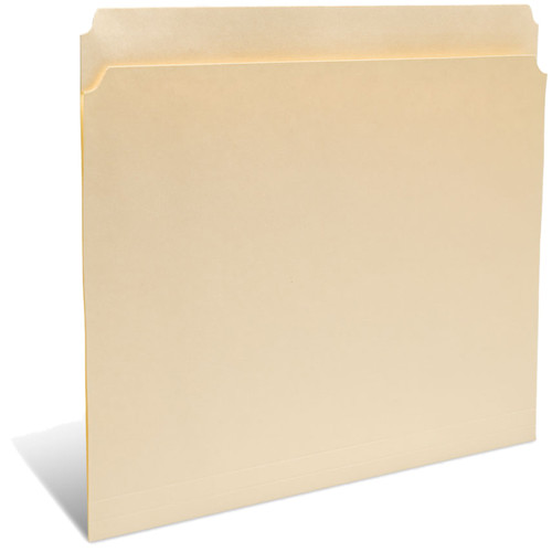 "Print File Letter Size Folder with 1"" Reinforced Full Tab (Buffered Light Cream, 50-Pack)"