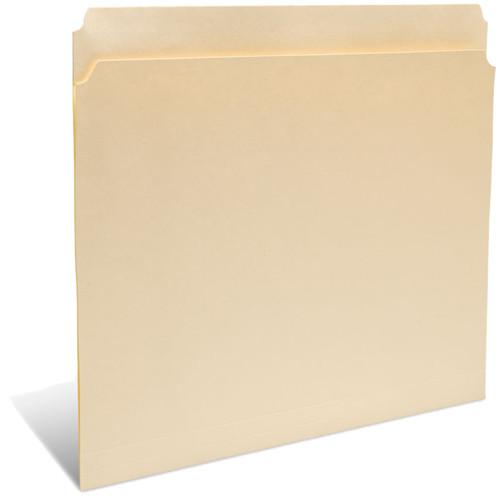 "Print File Letter Size Folder with 1"" Reinforced Full Tab (Buffered Light Cream, 50-Pack)"