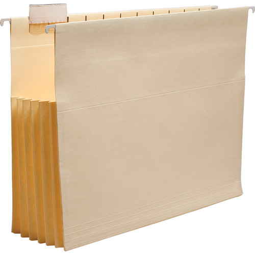 Print File HFEP5 Letter-Size Hanging File Folder (Pack of 5)