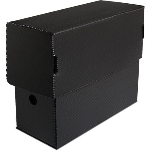 Print File Micro-Perforated Flip-Top Document Box (Letter Size)