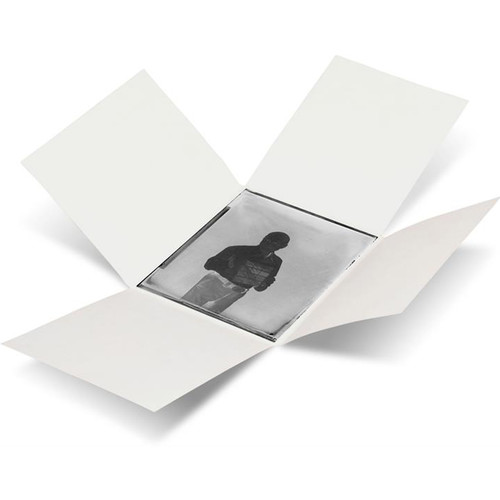 """Print File GPN57 5 x 7"""" Glass Plate Enclosures (White, 25-Pack)"""