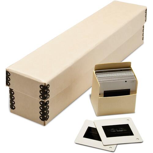 Print File SB1122 Slide Storage Box (Tan)