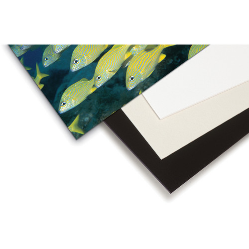 "Print File 14 x 17"" 4-Ply Cotton Rag Boards (Bright White, 25-Pack)"