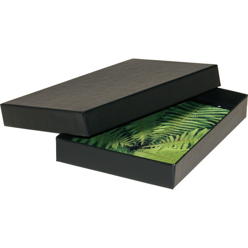 "Print File 4 x 6"" Proof Box (0.9"" Depth, Black)"