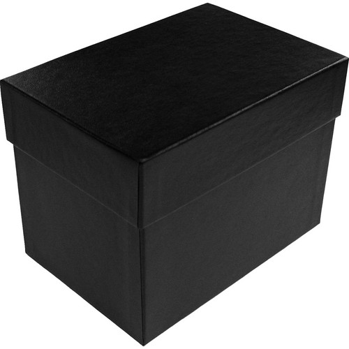 "Print File 4 x 6"" Proof Box (4.75"" Depth, Black)"