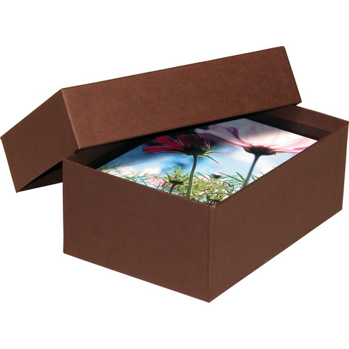 "Print File 4x6"" Proof Box (2.5"" Depth, Paragon Brown)"