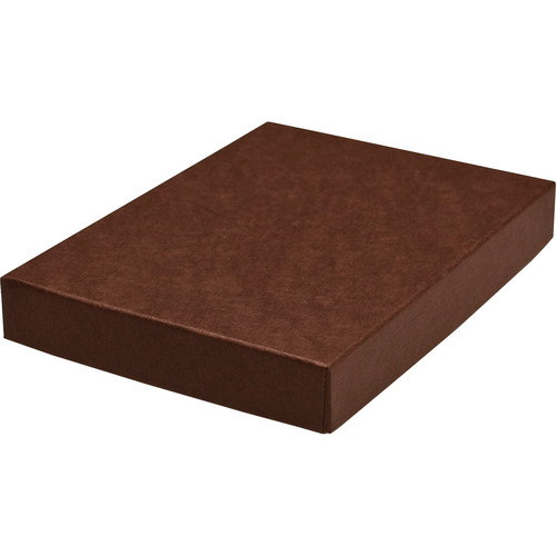 "Print File 11x14"" Standard Proof Box (1"" Depth, Brown)"