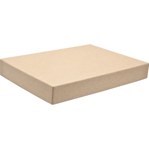 """Print File 8x10"""" Standard Proof Box (1"""" Depth, Kraft)"""