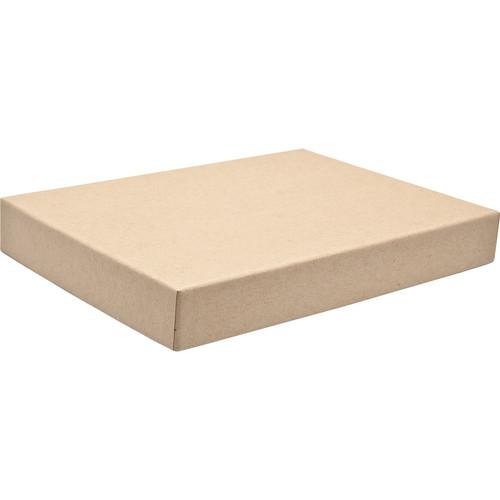 """Print File 9.5x12.5"""" Standard Proof Box (1"""" Depth, Kraft)"""