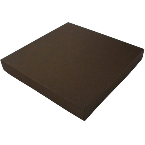 "Print File 12x12"" Square Proof Box (1"" Depth, Brown)"