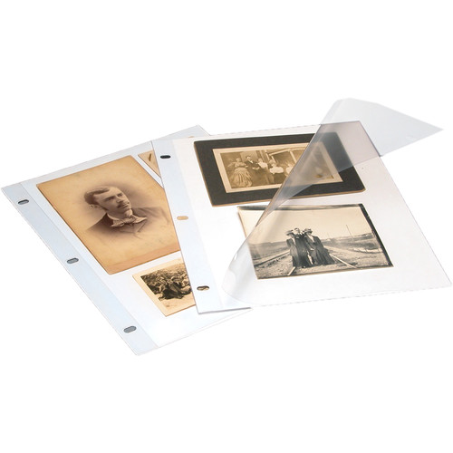 """Print File 1011PEW Polyester Page Protectors (10 x 11"""", 500 Sheets)"""