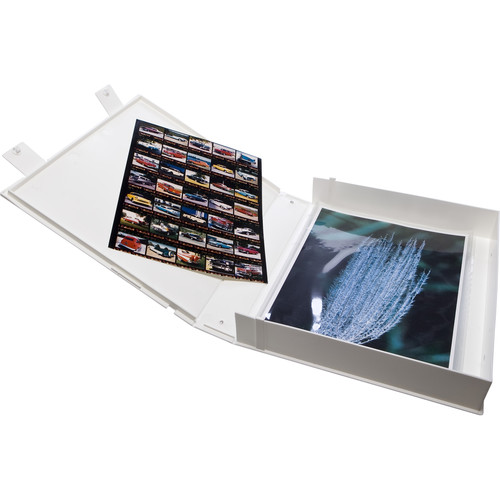 Print File Safe-T-Binder without Rings (White)