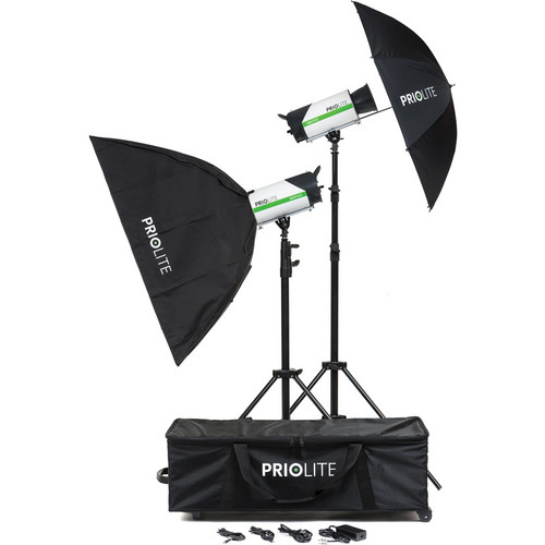 Priolite Leipzig MBX500 2-Light Kit
