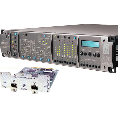 Prism Sound ADA-8XR Audio Interface with 16-Channel D/A & FireWire
