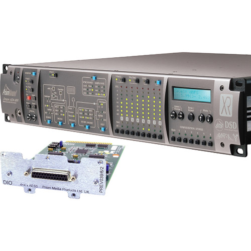 Prism Sound ADA-8XR Audio Interface with 8-Channel A/D-D/A & 8-Channel AES I/O