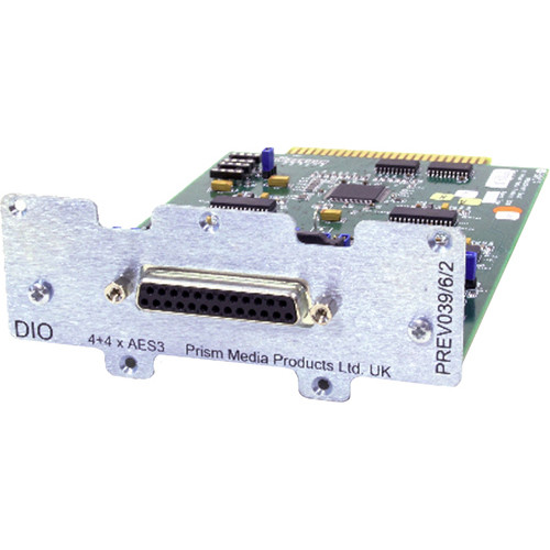 Prism Sound 8C-AES 8-Channel AES I/O Module for ADA-8XR Interface