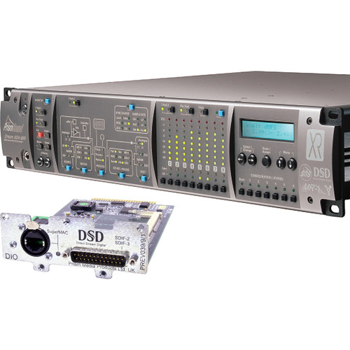 Prism Sound ADA-8XR Audio Interface with 8-Channel A/D-D/A & 8-Channel DSD I/O