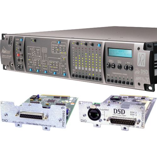 Prism Sound ADA-8XR Audio Interface with 8-Channel A/D-D/A, 8-Channel AES I/O & DSD I/O