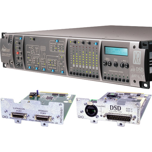 Prism Sound ADA-8XR Audio Interface with 8-Channel A/D-D/A & 8-Channel DSD I/O for Pro Tools HD