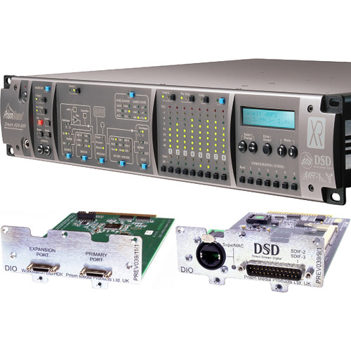 Prism Sound ADA-8XR Audio Interface with 8-Channel A/D-D/A & 8-Channel DSD I/O for Pro Tools HDX