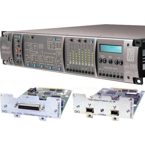 Prism Sound ADA-8XR Audio Interface with 8-Channel A/D-D/A, 8-Channel AES I/O & FireWire