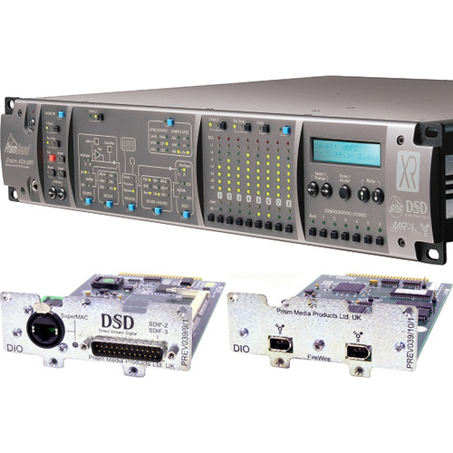 Prism Sound ADA-8XR Audio Interface with 8-Channel A/D-D/A, FireWire & DSD I/O