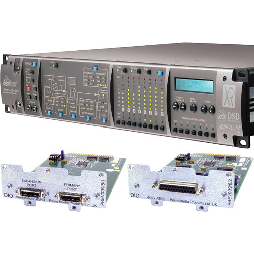 Prism Sound ADA-8XR Audio Interface with 8-Channel A/D-D/A & 8-Channel AES I/O for Pro Tools HD