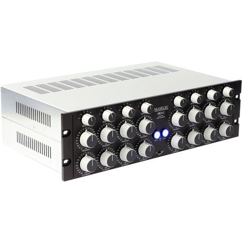 MASELEC MEA-2 Stereo 4-Band Parametric Equalizer