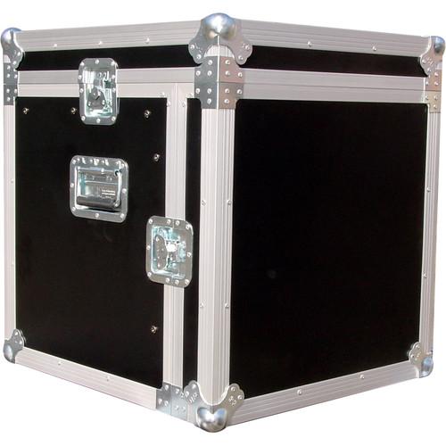 Pro Cases 12U Mixer/ 12U Combo Rack / with Casters