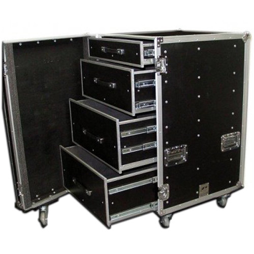 Pro Cases 4 Drawer Workbox With Outside Dims Of 24 X 30 X 46