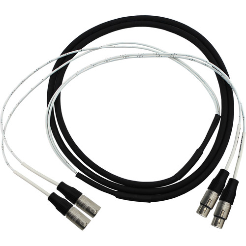 Pro Co Sound 2-Channel 3-Pin XLR Male to 3-Pin XLR Female Audio Cable (10')
