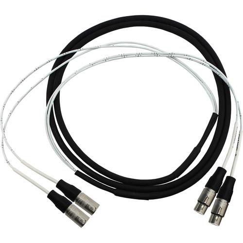 Pro Co Sound 2-Channel Neutrik NC3MX-1 3-Pin XLR Male to Neutrik NC3FX-1 3-Pin XLR Female Audio Cable (10')