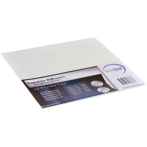 "Pro Gel 12x12"" SupaLite LED Diffuser Filter Pack (12-Pack)"