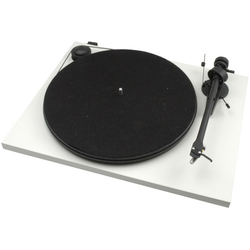 Pro-Ject Audio Systems Essential II Stereo Turntable with USB (White)