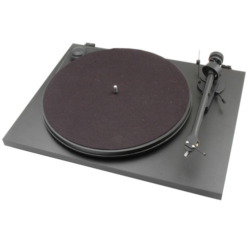 Pro-Ject Audio Systems Essential II Stereo Turntable with USB (Black)