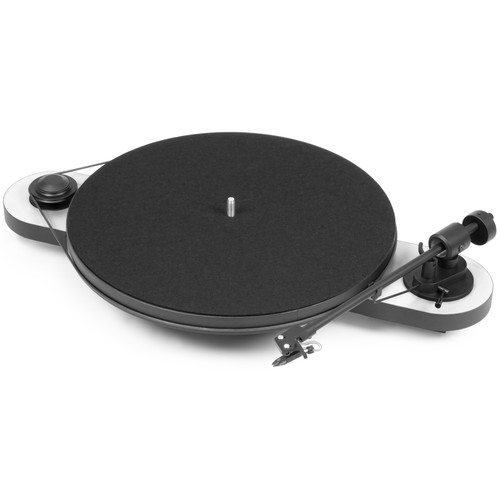 Pro-Ject Audio Systems Elemental Phono USB Turntable (White & Black)