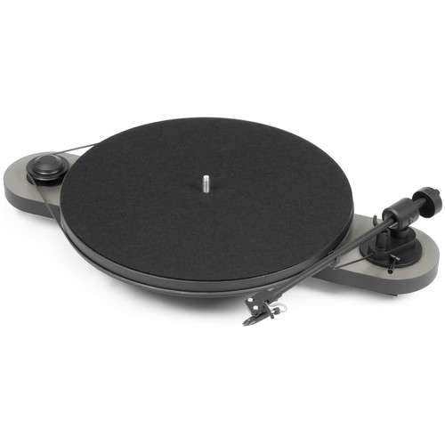 Pro-Ject Audio Systems Elemental Phono USB Turntable (Silver & Black)